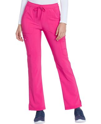 Dickies Medical  DK200   - Mid Rise Boot Cut Draws Hot Pink
