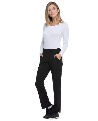 Dickies Medical DK005P - Woman's Petite Natural Ri Black
