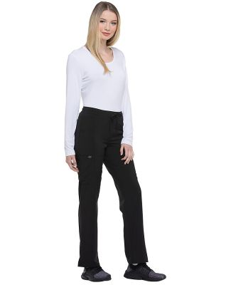 Dickies Medical DK010P - Women's Petite Mid Rise S Black