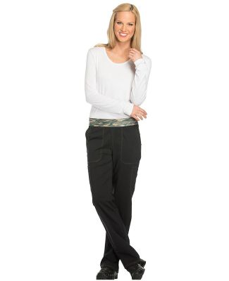 Dickies Medical DK140P - Women's Petite Mid Rise T Black