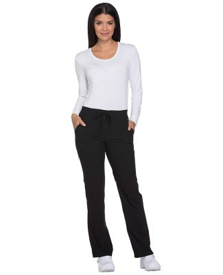 Dickies Medical DK112T - Women's Tall Mid Rise Str Black