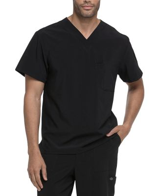Dickies Medical DK635 - Men's EDS Essentials V-Nec Black
