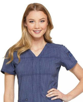 Dickies Medical DK690 - Women's Advance Two-Tone T D Navy Twist