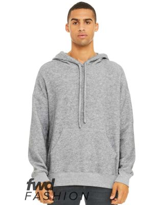 Bella + Canvas 3329 Fast Fashion Unisex Sueded Fle ATHLETIC HEATHER