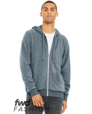 Bella + Canvas 3339 Fast Fashion Unisex Sueded Fleece Full-Zip Hoodie Catalog