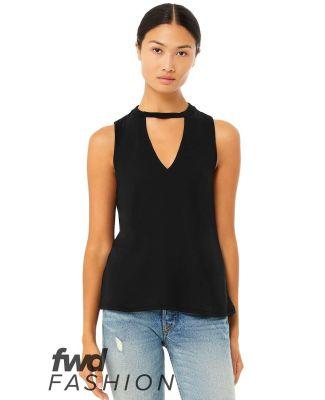Bella + Canvas 8808 Fast Fashion Women's Flowy Cut BLACK