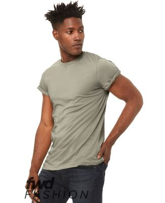 Bella + Canvas 3004 Fast Fashion Unisex Jersey Rolled Cuff Tee Catalog