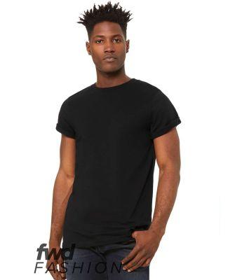 Bella + Canvas 3004 Fast Fashion Unisex Jersey Rol BLACK