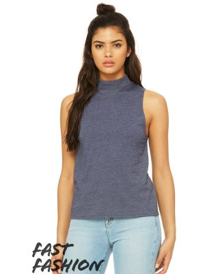 Bella + Canvas 6807 Fast Fashion Women's Mock Neck Tank Catalog