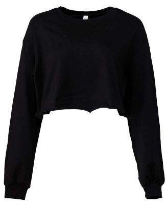 Bella + Canvas 6501 Fast Fashion Women's Cropped L BLACK