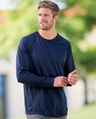 Augusta Sportswear 2795 Adult Attain Wicking Long-Sleeve T-Shirt Catalog