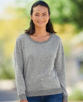 J America 8658 Women's Cozy Jersey Crewneck Sweatshirt Catalog