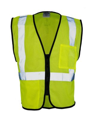 ML Kishigo 1537-1538 Class 2 Double-Pocket Zippered Economy Vest Catalog