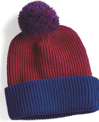 "Sportsman SP70 12"" Knit Speckled Pom-Pom Beanie Catalog"