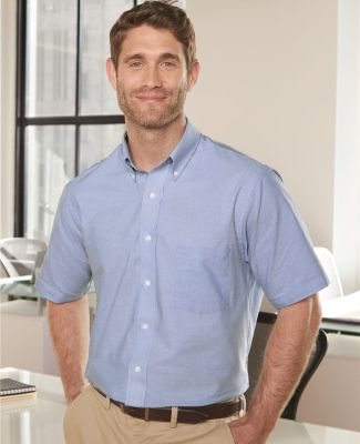 Van Heusen 13V0042 Short Sleeve Oxford Shirt Catalog