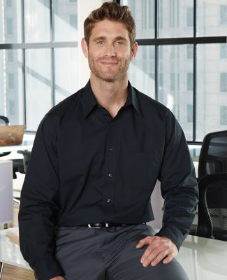 Van Heusen 13V0214 Broadcloth Long Sleeve Shirt Catalog