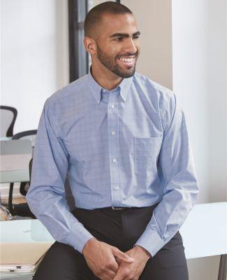 Van Heusen 13V0467 Blue Suitings Non-Iron Patterned Shirt Catalog