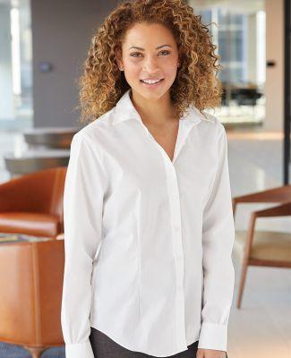 Van Heusen 13V5053 Women's Cotton/Poly Solid Point Collar Shirt Catalog