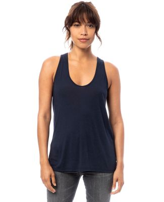Alternative Apparel 3094 Women's Slinky Jersey Tan NAVY