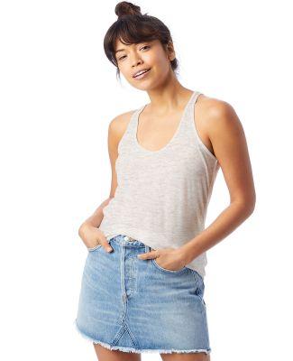 Alternative Apparel 3094 Women's Slinky Jersey Tan Oatmeal Heather