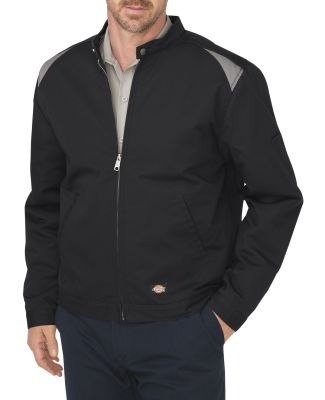 Dickies LJ605 Unisex Industrial Insulated Color Bl BLACK/ SILVER