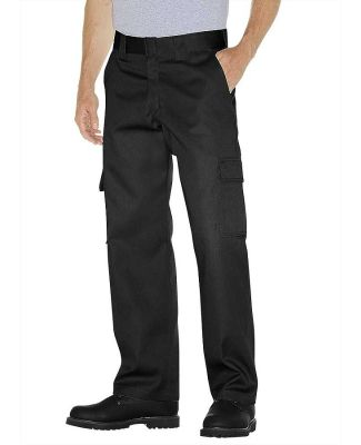 Dickies WP592 Unisex Relaxed Fit Straight Leg Carg BLACK _30