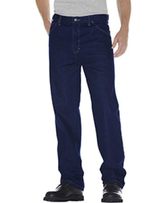 Dickies 13293 Unisex Relaxed Straight Fit 5-Pocket RNSD IND BLUE _30