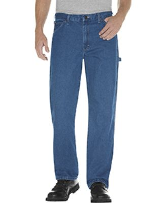 Dickies 19294 Unisex Relaxed Fit Stonewashed Carpe SW IND BLUE _30