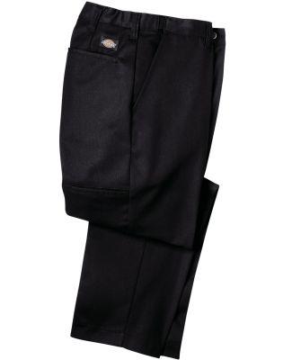 Dickies LP700 7.75 oz. Premium Industrial Flat Fro BLACK _28