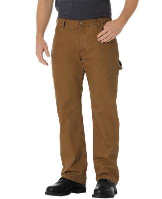Dickies DU250 Men's Relaxed Fit Straight-Leg Carpe RNS BRWN DCK _30