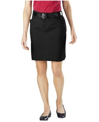 Dickies FK201 Ladies' Stretch Twill Skirt BLACK