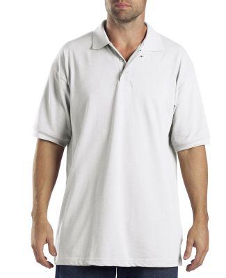 Dickies KS5552 Adult Short-Sleeve Performance Polo WHITE