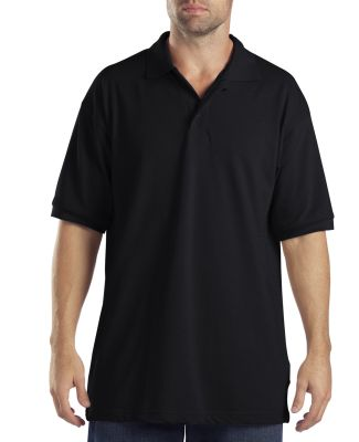 Dickies KS5552 Adult Short-Sleeve Performance Polo BLACK