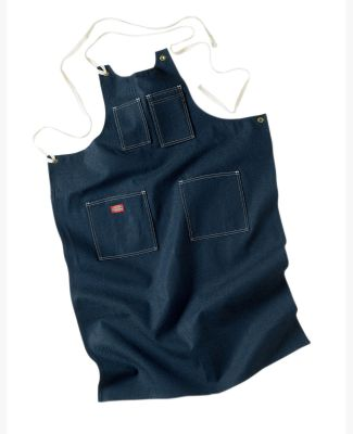 Dickies AC20 Men's Toolmaker's Denim Apron INDIGO BLUE