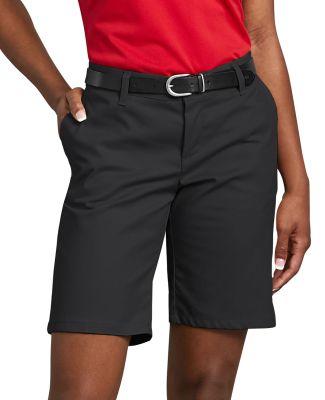 Dickies FR221 6.75 oz. Women's 9 Flat Front Short BLACK _04