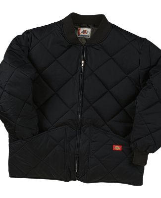 Dickies 61242T Diamond Quilted Nylon Jacket BLACK