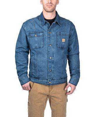 Dickies YJ824 Men's Westbrook Vintage Denim Jacket RINSED VNTG DNM