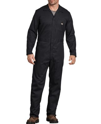 Dickies 48274 Men's FLEX Long-Sleeve Coverall BLACK _S