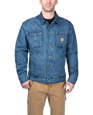 Dickies YJ824 Men's Westbrook Vintage Denim Jacket RINSED VNTG DNM