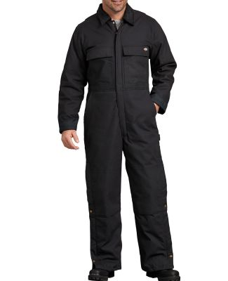 Dickies TV676 Men's FLEX Sanded Duck Coverall BLACK _M