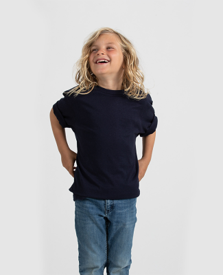 Tultex 295 - Youth Heavyweight Tee Navy