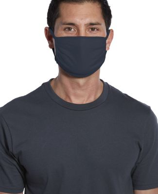 CASE PACK Face Mask Flat 500 units Cotton Knit  NEW NAVY