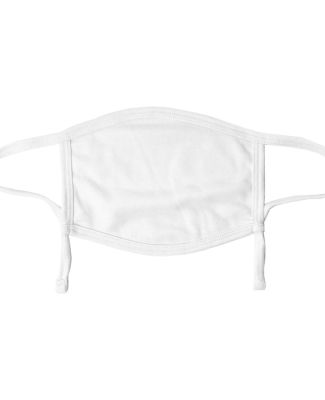 Valucap VC30Y ValuMask Youth Polyester Adjustable White Polyester