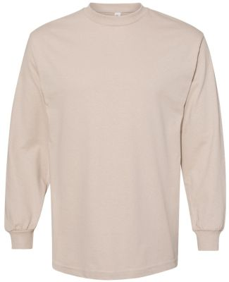 Alstyle 1304 Adult Long Sleeve Tee Sand