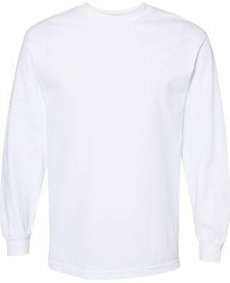 Alstyle 1304 Adult Long Sleeve Tee White