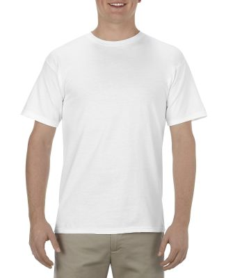Alstyle 1701 Adult Tee White