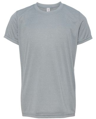 Alo Sport Y1009 Youth Performance T-Shirt Athletic Heather