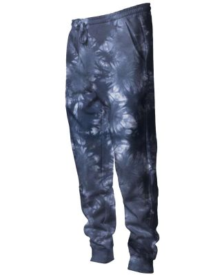 Independent Trading Co. PRM50PTTD Tie-Dyed Fleece  Tie Dye Navy