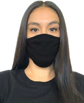 Next Level Apparel M100 Adult Eco Face Mask BLACK