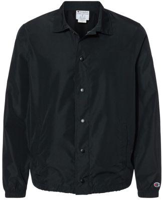 Champion Clothing CO126 Coach's Jacket Black